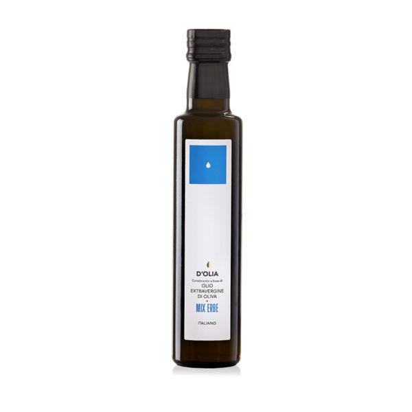 olio d'oliva al mix di erbe