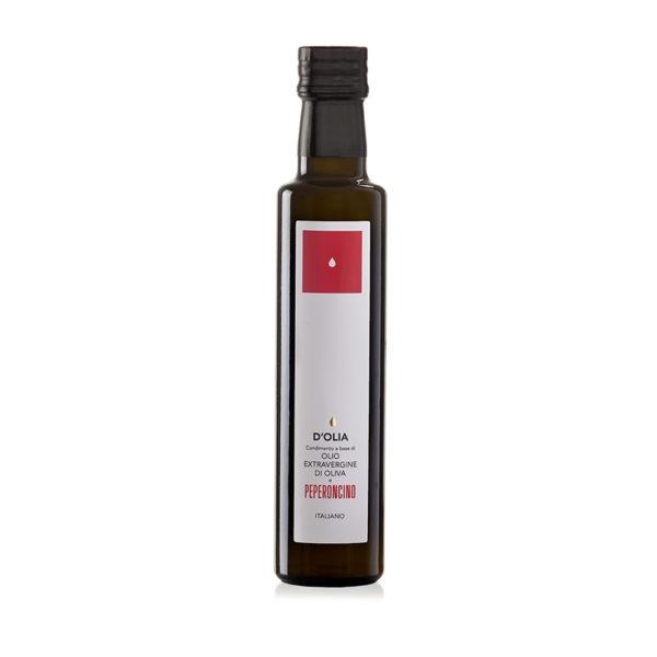 Olio d'oliva Aromatizzato al Peperoncino